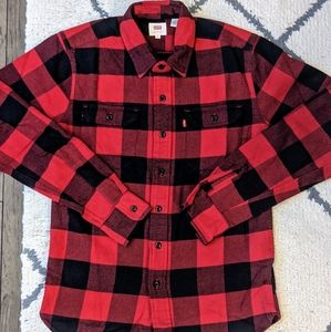 NWOT - Levi's Checked Jackson Flannel Worker Shirt